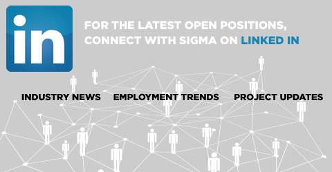 Visit Sigma on Linked IN